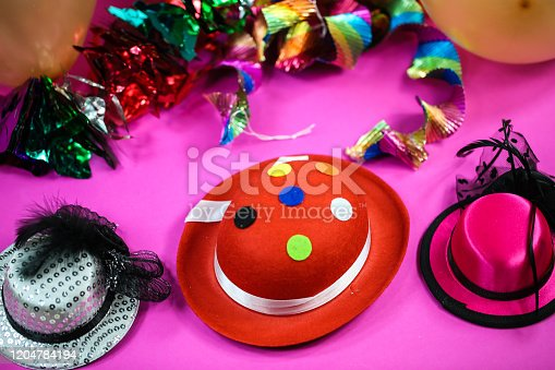 1135969446 istock photo background for carnival, abstract, pink 1204784194
