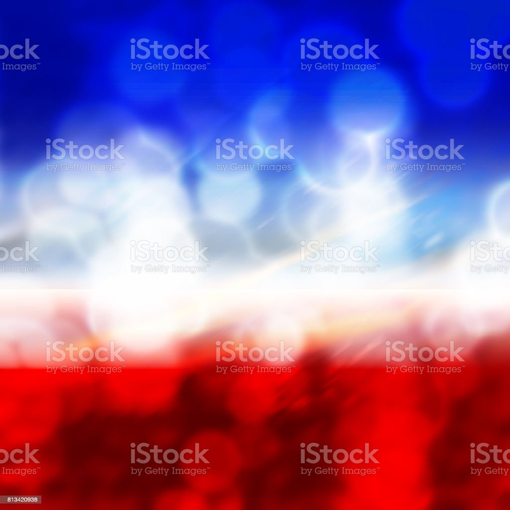 Background for graphics , flag of the France, 14 july stock photo