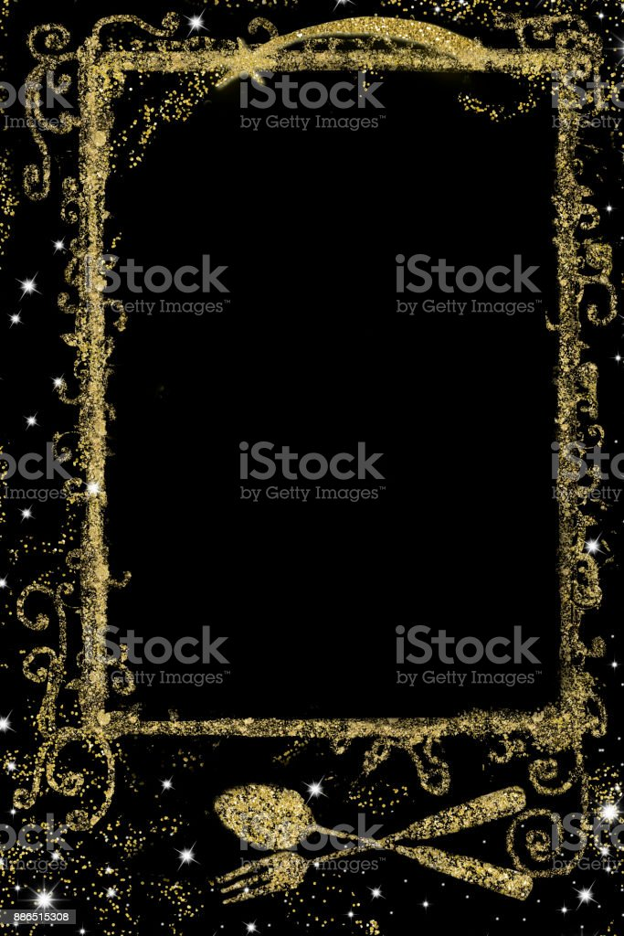 Background for writing Nativity  menu stock photo