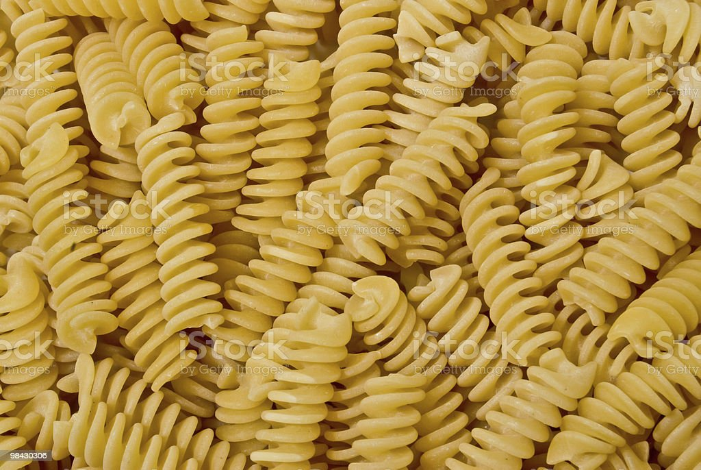 Background from a twisted macaroni royalty-free stock photo
