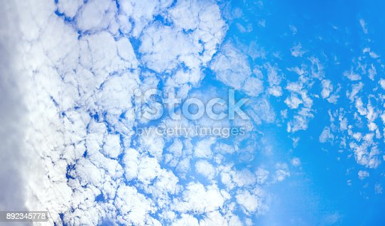 istock background from blue sky with white clouds 892345778