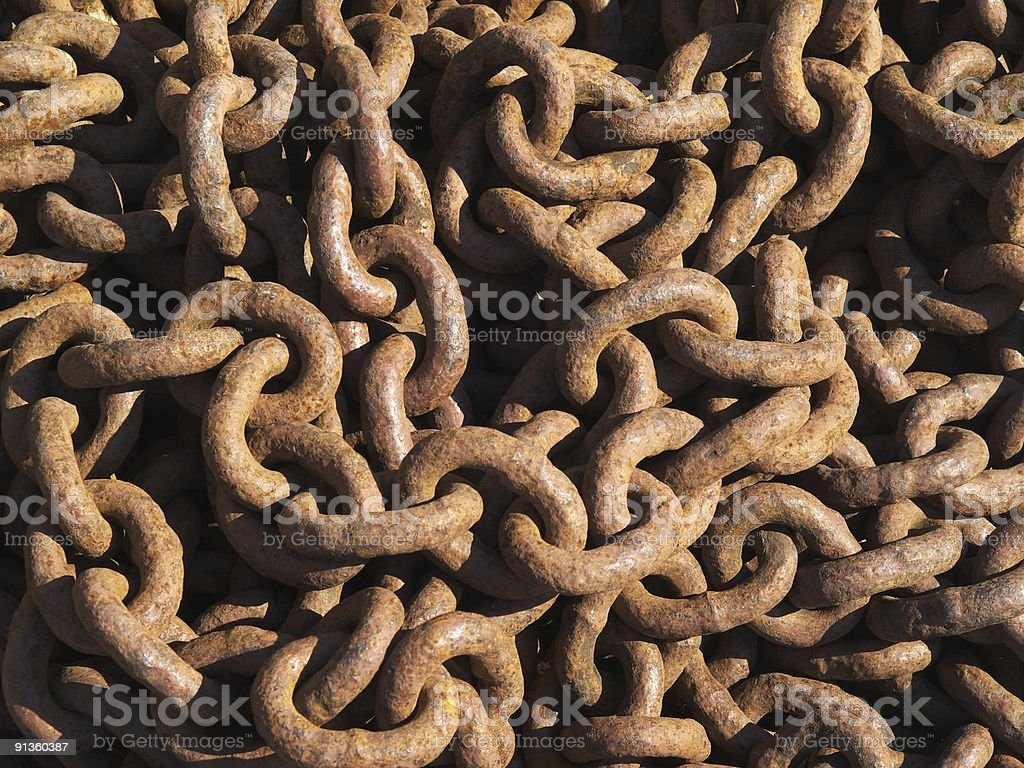 Background from chain royalty-free stock photo
