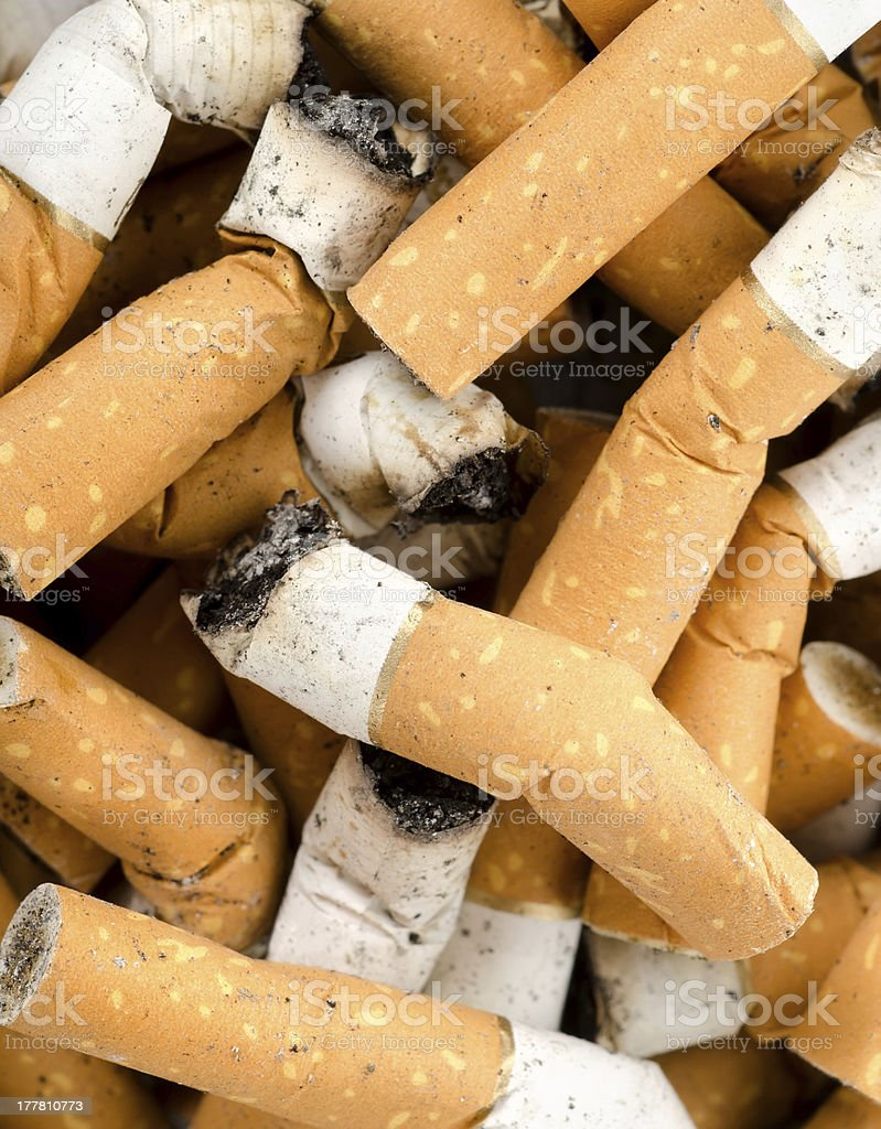 Background from cigarettes royalty-free stock photo