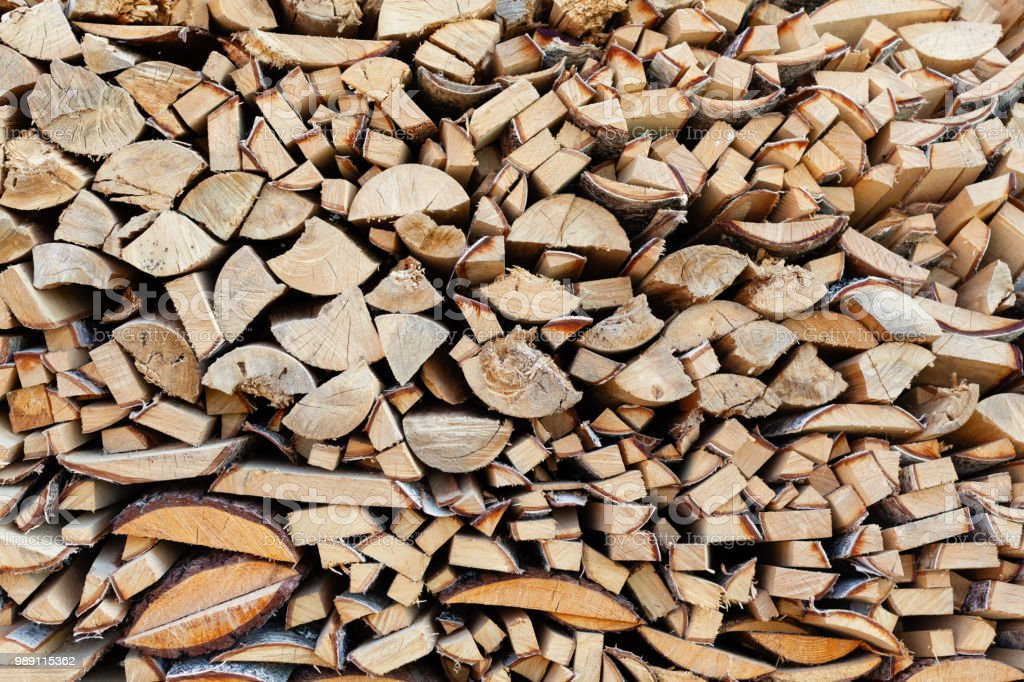 Background from end faces of the fresh wooden bars of a different form стоковое фото