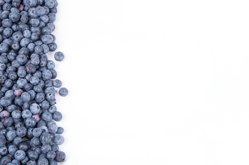 533340696 istock photo Background from freshly picked blueberries 1001621940