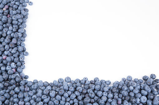 533340696 istock photo Background from freshly picked blueberries 1001622174