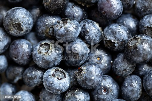 533340696istockphoto Background from freshly picked blueberries 1163478810