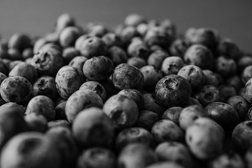 533340696 istock photo Background from freshly picked blueberries 1258106878