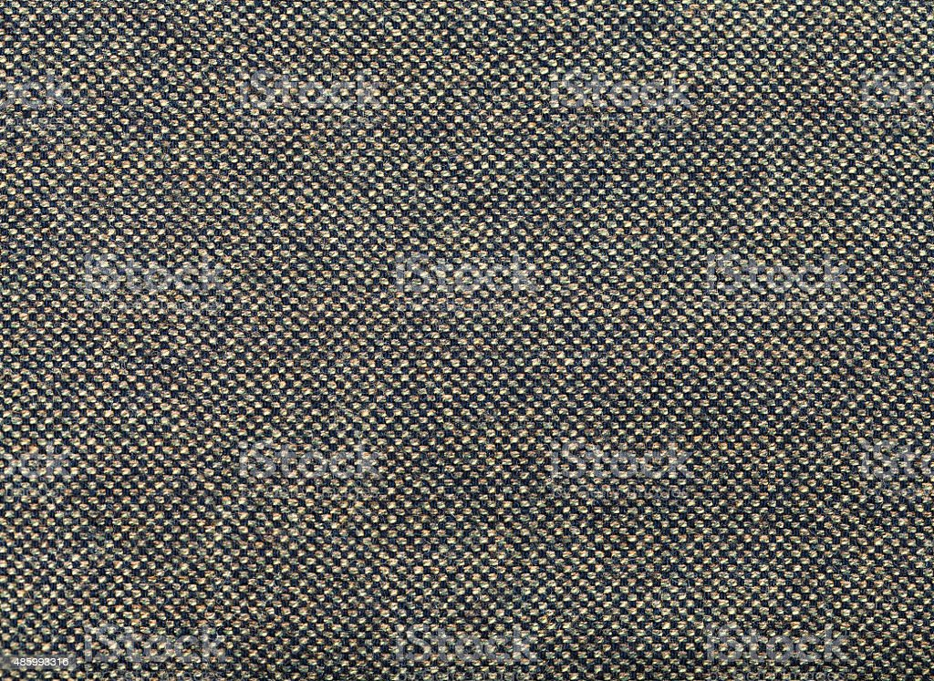 background from green and brown tweed fabric stock photo