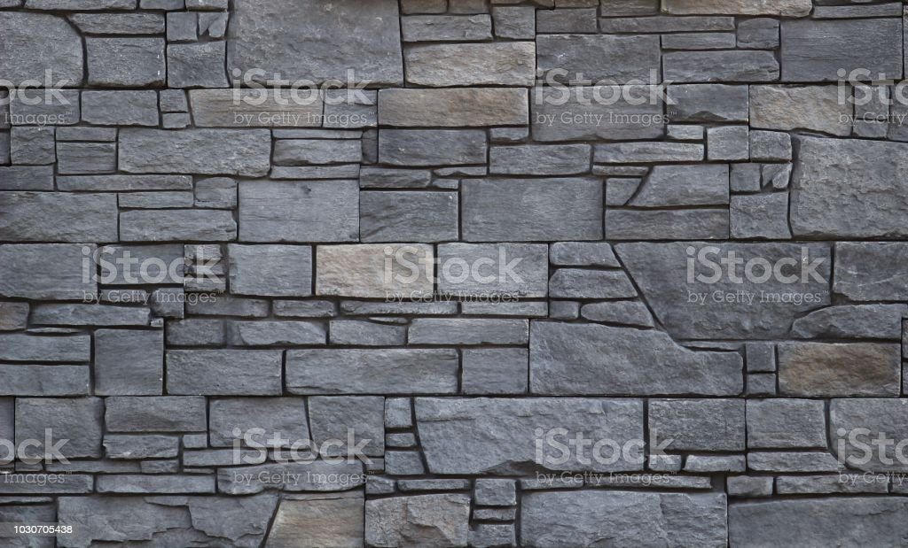 background from grey stones stock photo