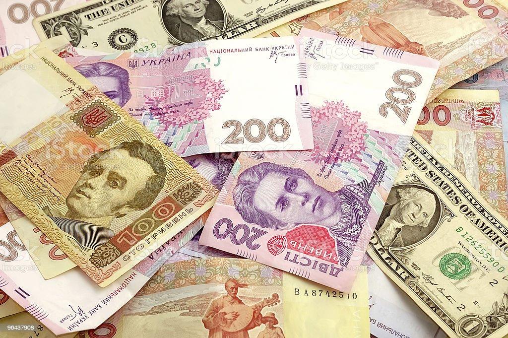 Background from monetary banknotes - Royalty-free Amerikaanse dollar Stockfoto