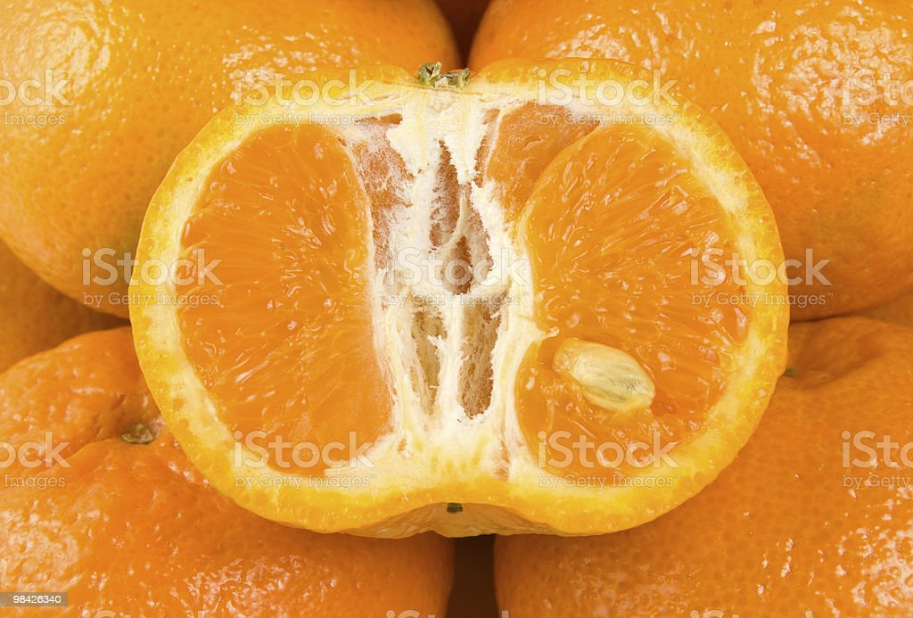 Background from tangerine royalty-free stock photo