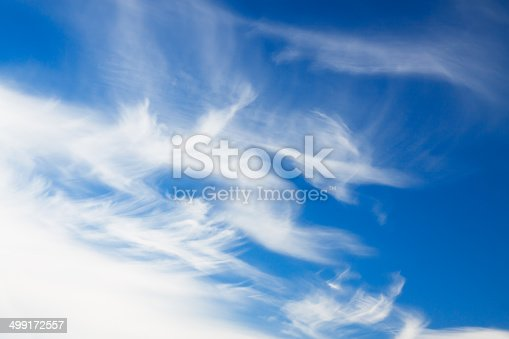istock background from the blue sky with white clouds 499172557