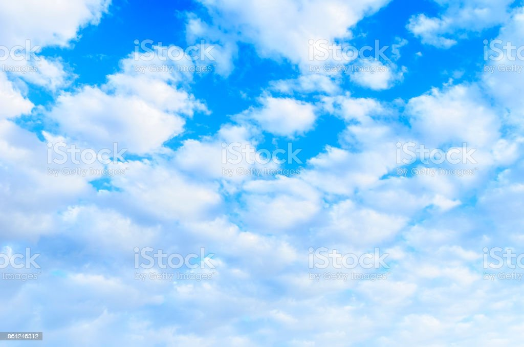 Background from the cloudy sky. royalty-free stock photo