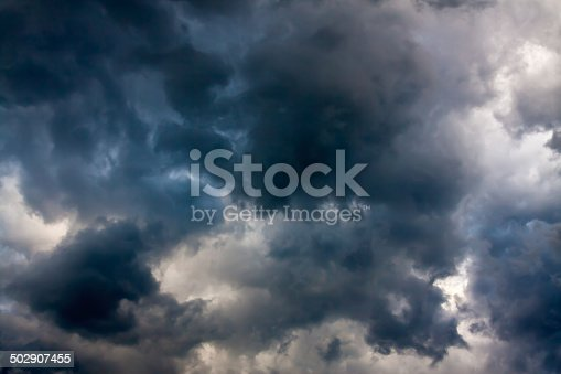 istock background from the sky and dark storm clouds 502907455