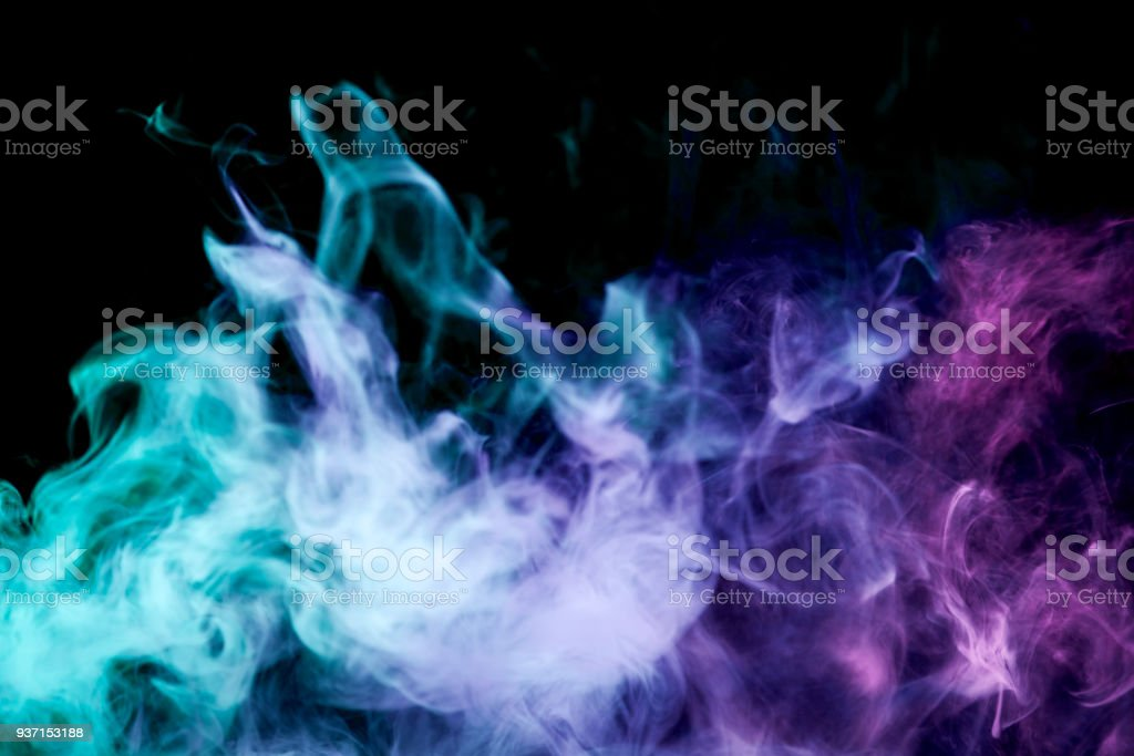 Background from the smoke of vape stock photo