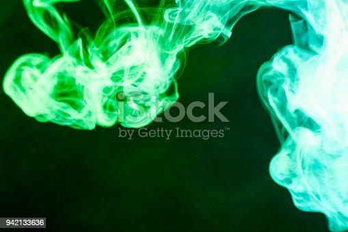506908246 istock photo Background from the smoke of vape 942133636