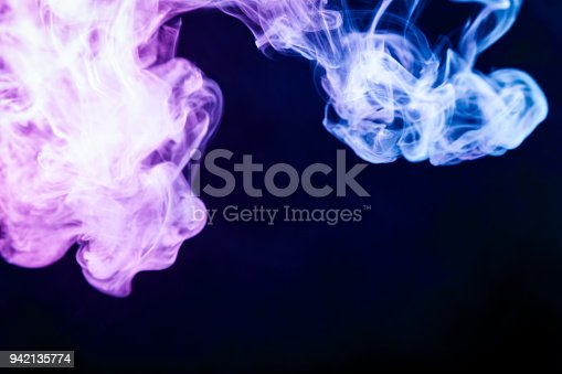 506908246 istock photo Background from the smoke of vape 942135774