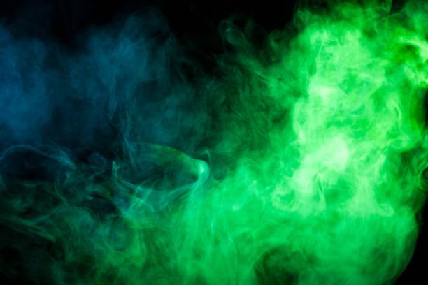 Arka plandan vape duman stok fotoğrafı