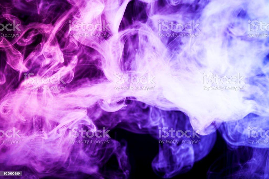 Hintergrund aus dem Rauch der vape - Lizenzfrei Abstrakt Stock-Foto