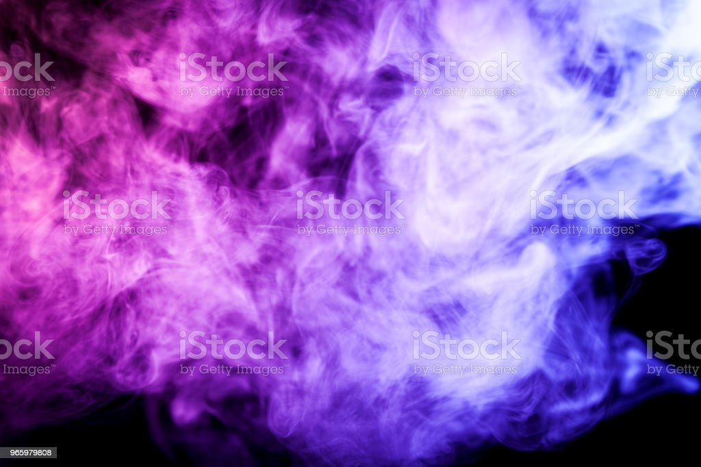 Background from the smoke of vape - Royalty-free Abstract Stock Photo