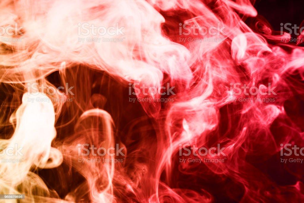 Hintergrund aus dem Rauch der vape - Lizenzfrei Abgas Stock-Foto