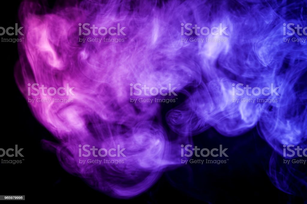 Background from the smoke of vape - Royalty-free Abstrato Foto de stock