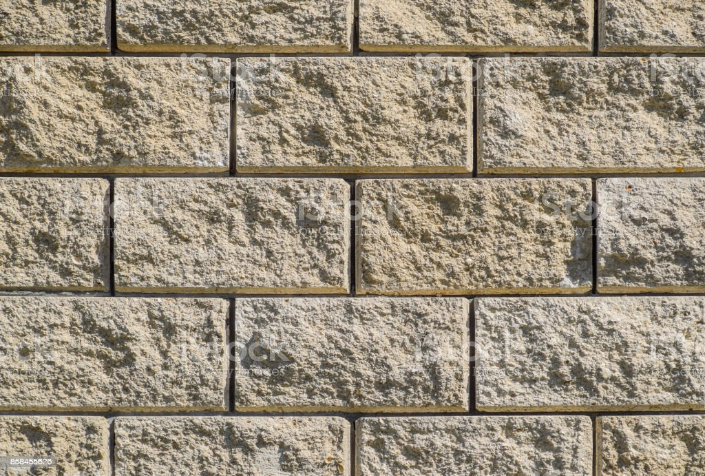 Häufig Hintergrund Von Der Wand Des Weißen Steins Gelb Beige Ziegel VC28