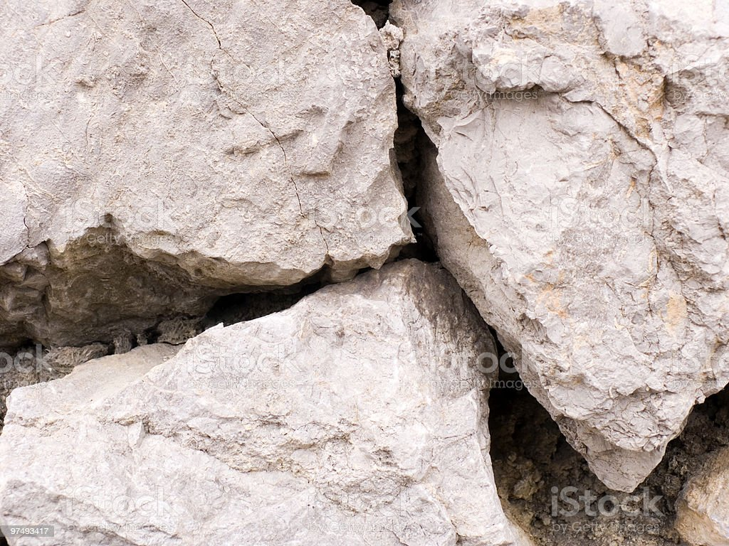 Background from three big stones royalty-free stock photo