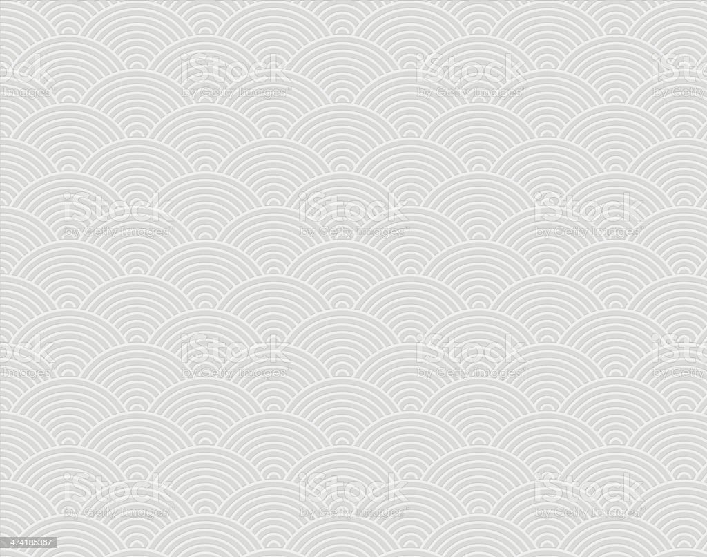 Background from white embossed paper stock photo