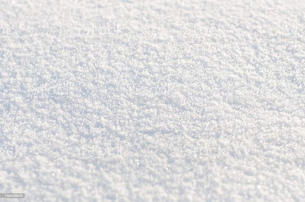 Background from white  snow. Small depth of focus center. royalty-free stock photo