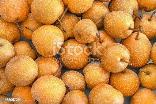 Asian pear isolated on white