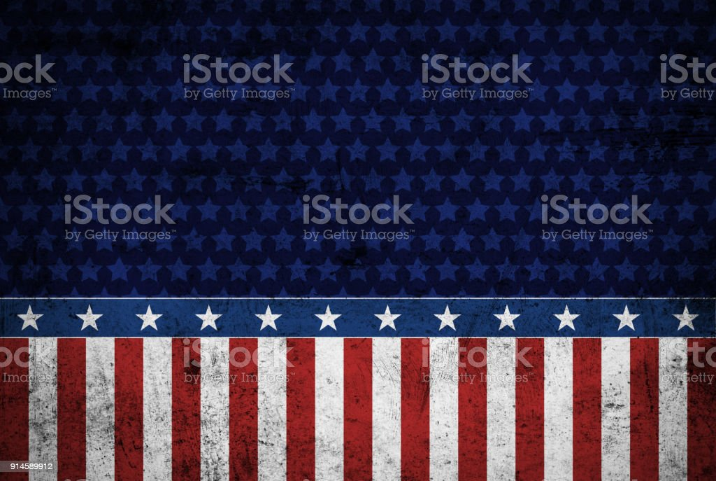 USA background grungy style stock photo