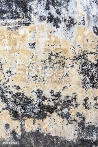istock Background high detailed fragment stone colored wall 499983909