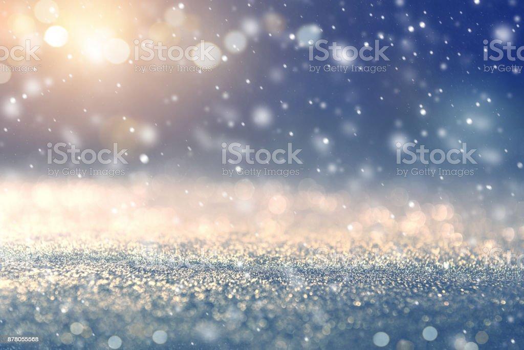Hintergrund Urlaub Winter für Frohe Weihnachten und glückliches neues Jahr. – Foto