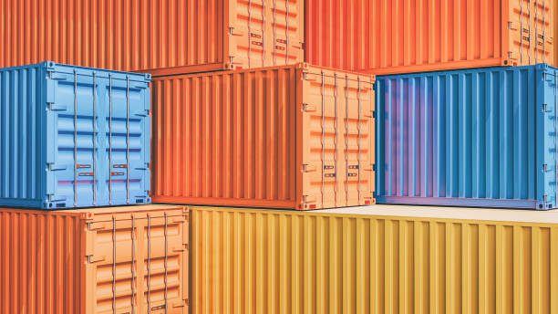 Background image container stacking overlap. stock photo