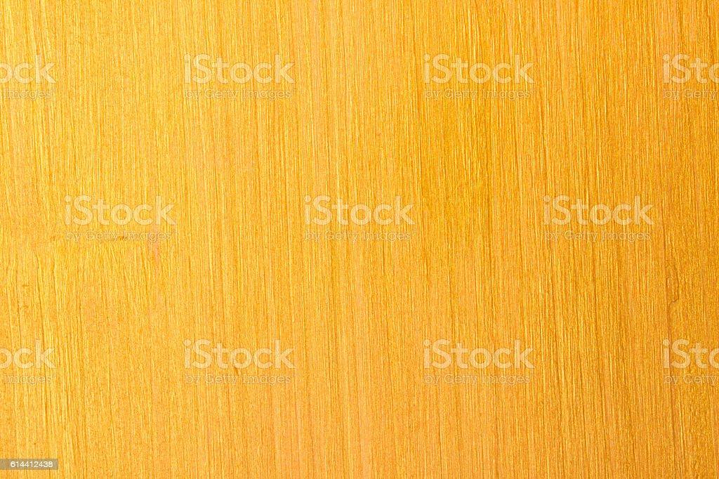 Background image golden yellow wooden  table - foto de acervo