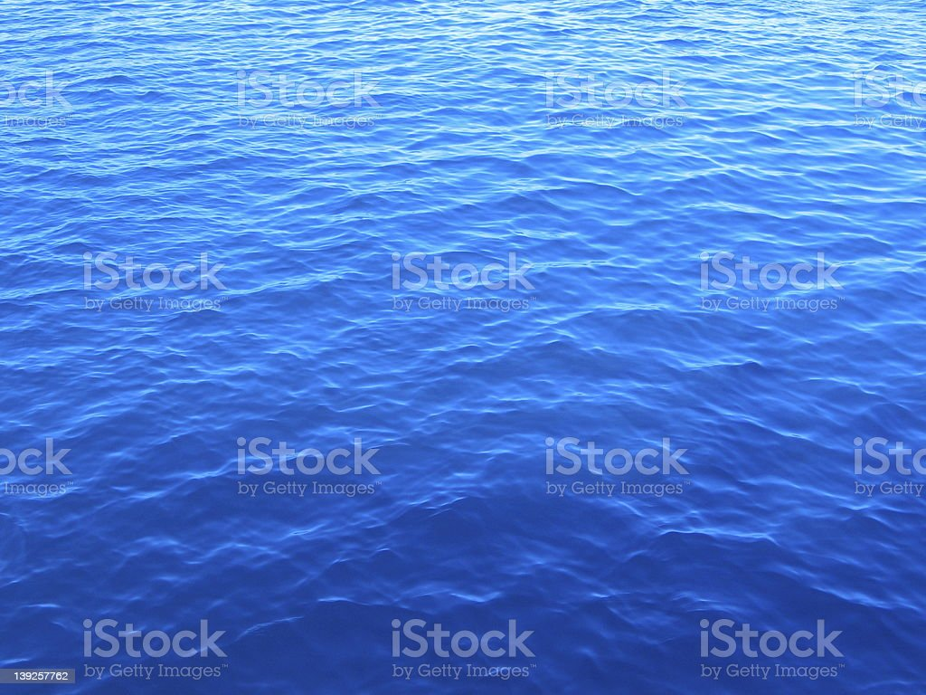 Background image of calm blue sea water royalty-free stock photo