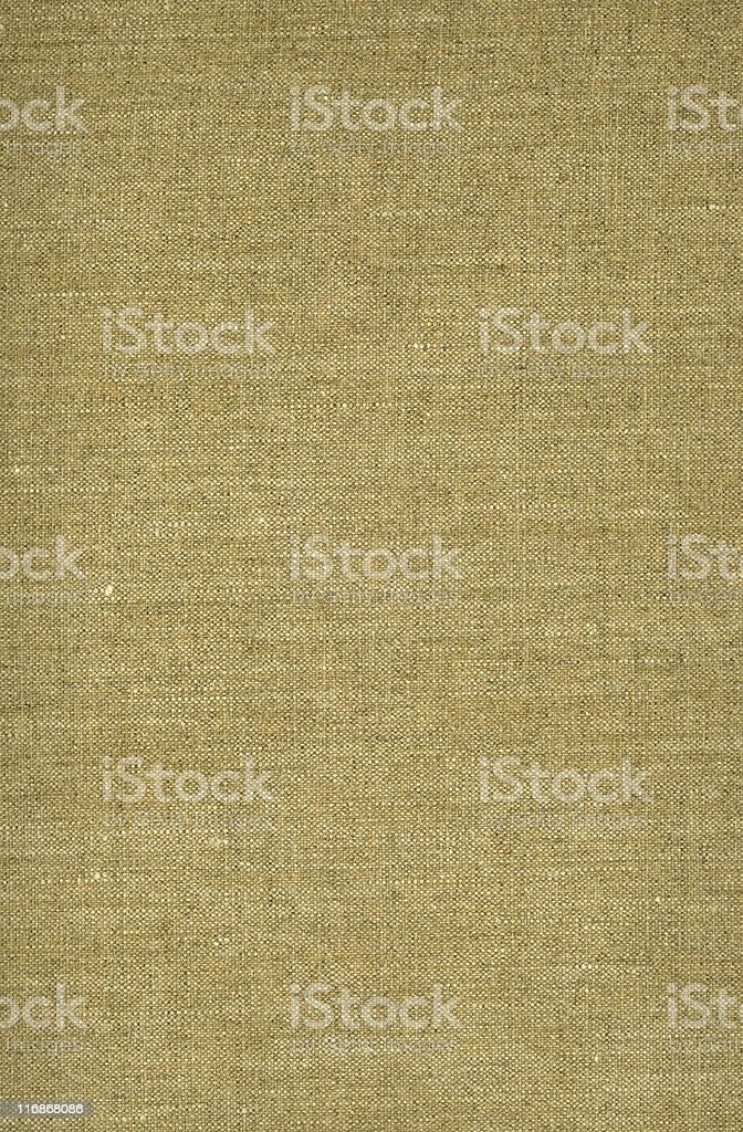 Background image of gold-toned woven canvas royalty-free stock photo