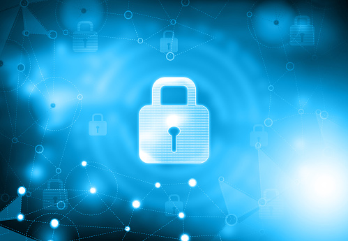 istock Background image of Internet security 1210717182