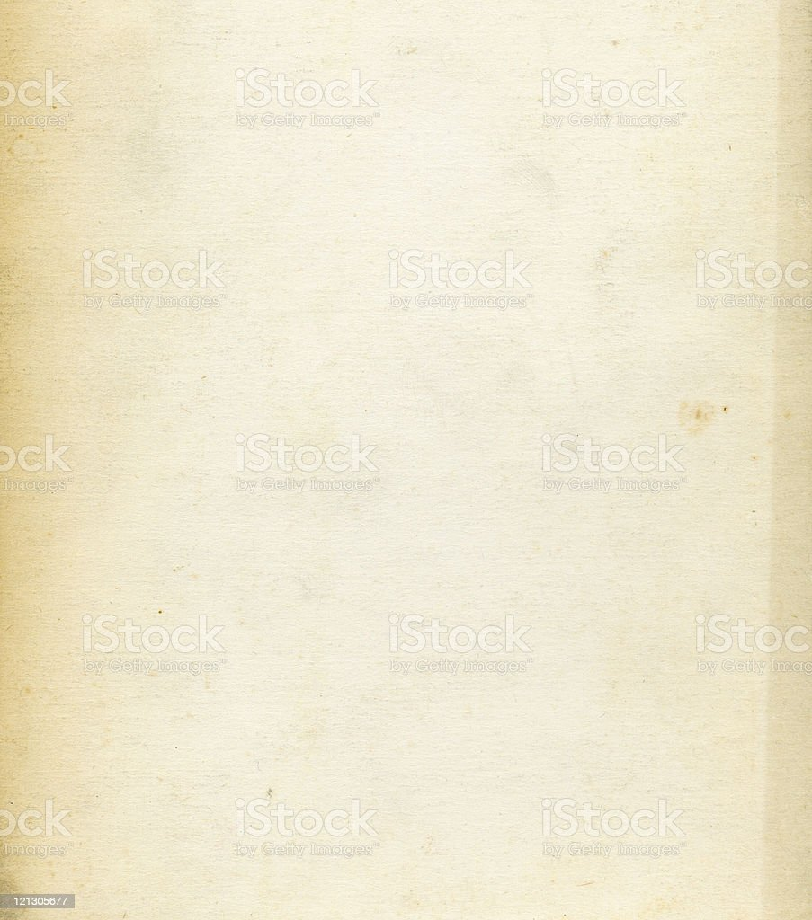 Background image of old, yellowing paper royalty-free stock photo