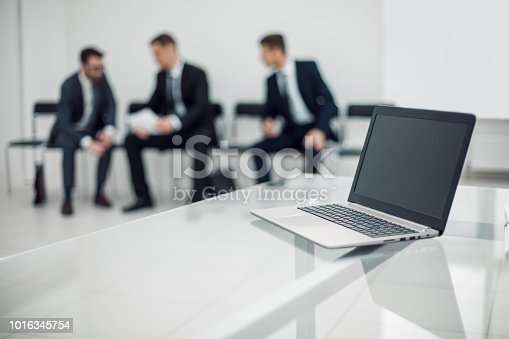 879125330 istock photo background image office reception 1016345754