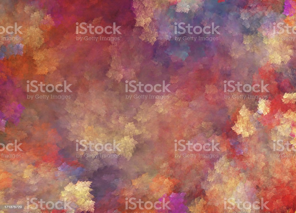 Background in Impressionism style with many colors - Royalty-free Abstract Stockfoto