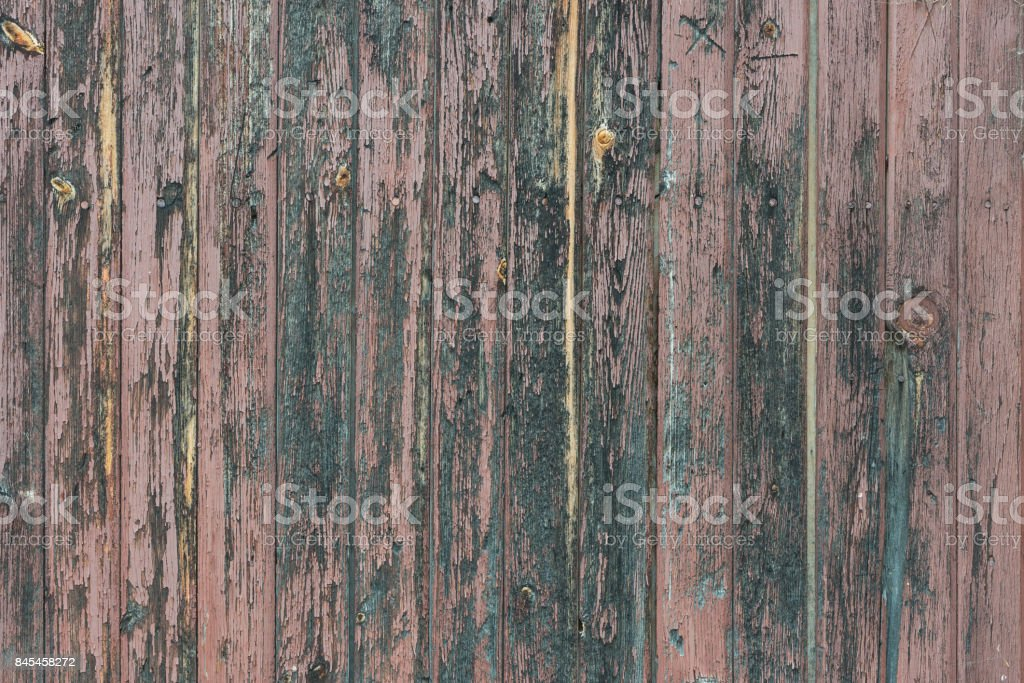Background in style a rustic from old bare wooden painted boards стоковое фото