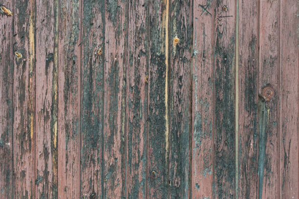 Cтоковое фото Background in style a rustic from old bare wooden painted boards