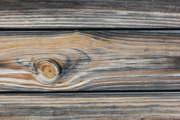 Cтоковое фото Background in style a rustic from old horizontal wooden boards close up