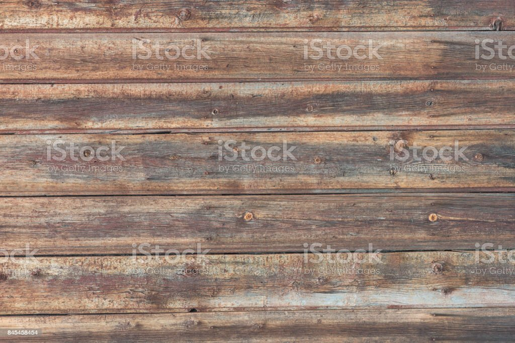 Background in style a rustic from old horizontal wooden boards стоковое фото