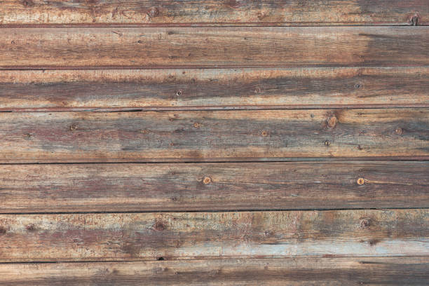Cтоковое фото Background in style a rustic from old horizontal wooden boards