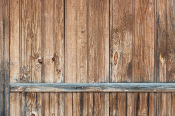 Cтоковое фото Background in style a rustic from old vertical wooden unpainted boards