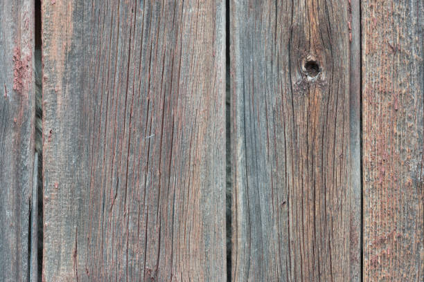 Cтоковое фото Background in style a rustic from old wooden unpainted boards with cracks